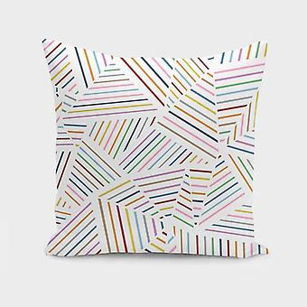 Ab linear rainbow zoom almofada/travesseiro