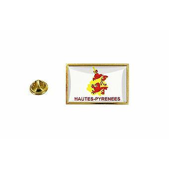 pinheiro emblema pinheiro pin-apos;bandeira país mapa departamento de pirenéus altas