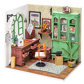Annie's workshop model assembled by DIY