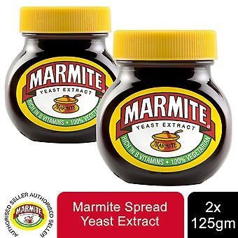 Marmite gist extract verrijkt rijk aan vitamine B, 2 potten van 125gm