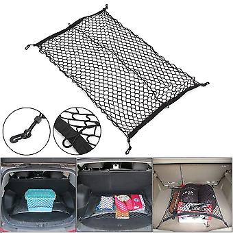 Nylon Car Trunk Net Luggage Storage Organizer Bag Rear Tail Mesh Network