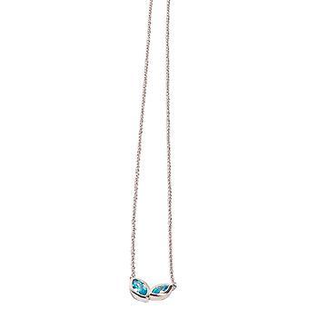 Kosma Paris Kira Women's Necklace - White Silver