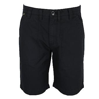 Barbour international men's black patch pocket shorts