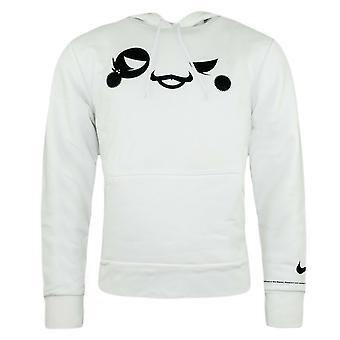 Nike Mens UFO United Football Organistation 06 Hoodie White Sweatshirt 226612 10