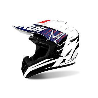 Airoh Switch Motorcycle Helmet Replacement Peak Startruck Red PEAK ONLY