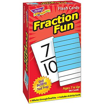 Fraction Fun Skill Drill Flash Karten