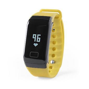 "Smartwatch 0.66"" OLED Bluetooth Yellow"