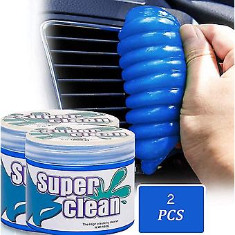 2 Pcs Car Cleaning Gels,for Car Detailing Tools Keyboard Cleaner