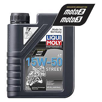 Liqui Moly 4 Stroke Semi Synthetic Street 15W-50 1L - #2555
