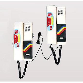 Audio Deur Telefoon, 2-weg Intercom Systeem, zeer eenvoudig te installeren speciale lijn