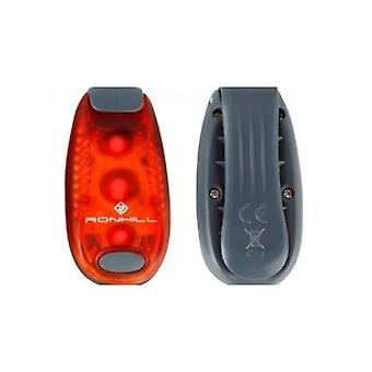 Ronhill Additions Light Clip Ultra-bright LED Pour Vestes Sacs à dos et et; Sacs - Rouge