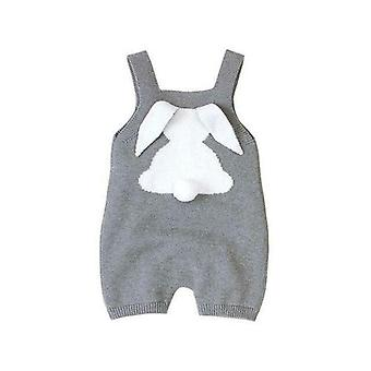 Baby Rompers Clothes Bunny Rabbit Knitted New Born