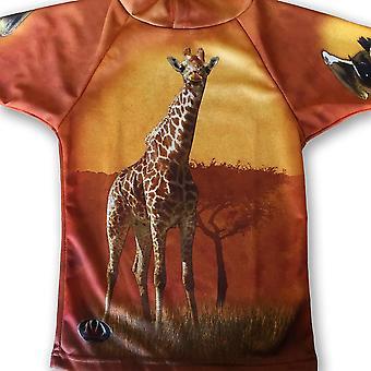 Giraffe Hoodie Sport Shirt By Mouthman®