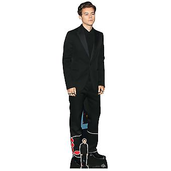 Styles Harry Black Suit Lifesize Cardboard Cutout / Standee