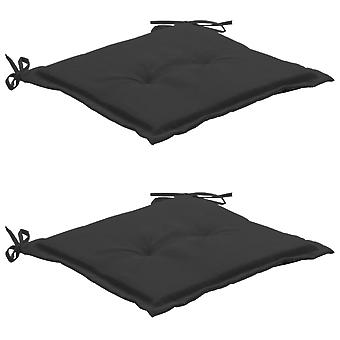 vidaXL poduszka krzesło ogrodowe 2 szt. antracyt 50×50×3 cm
