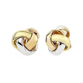 Traveller Clip earrings 3-tone - 157341