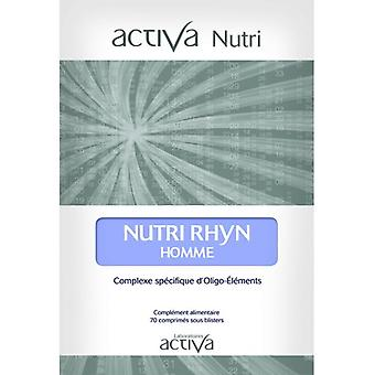 Activlab Nutri Rhyn Hombre 70 Cápsulas
