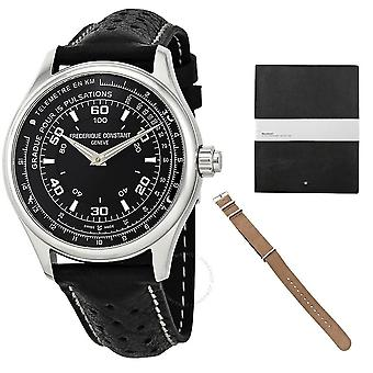 Frederique Constant Black Dial Men's Horological SmartWatch FC-282ABS5B6