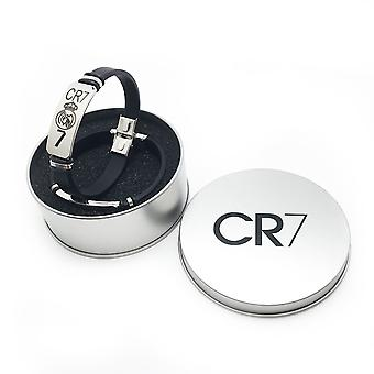 Sport Football Star Cr7 Armband Roestvrij Staal Polsband Mannen