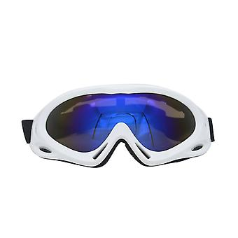 Tuulenpitävä peili hiihtolasit yksikerroksinen hiekankestävä lumenkestävä ulkona pyöräily moottoripyörälasit