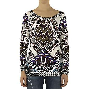 Custo Barcelona Women Sweater Loan Mintlaw Multicolor