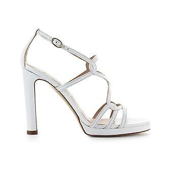 Roberto Festa Clinique White Nappa Leather Sandal