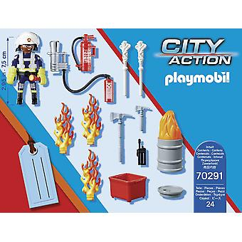 Playmobil Fire Rescue Presentset