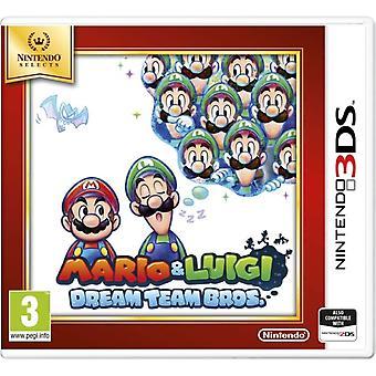 Mario & Luigi Dream Team Game 3DS (Selects)