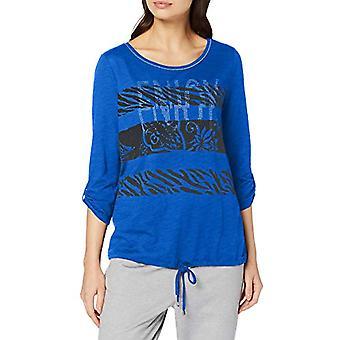 Betty Barclay 3804/2979 T-Shirt, Multicolor (Blue/Black 8890), 42 (Size Manufacturer: 36) Woman