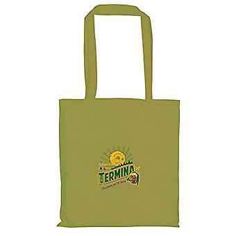 Texlab VEND-146230, Unisex Fabric Bag Adult, Olive, 38 cm x 42 cm