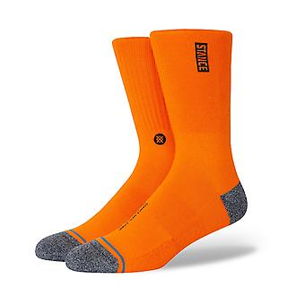 Stance Street Ops Crew Socks in Orange
