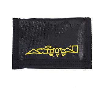 Animal Haiku Polyester Wallet in Black