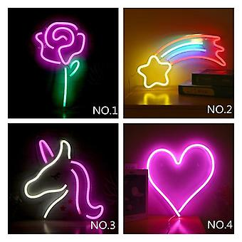 Usb Zeichen Goodvibes, Banane, offen, Popsicle, Hallo, Led Backplane Neon Licht