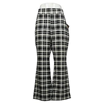 IMAN Global Chic Women's Petite Pants Black 722609FV5