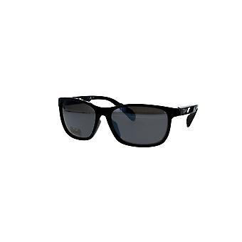 Adidas SP0014 01D Kiiltävä Musta/Savu Polarisoidut Aurinkolasit