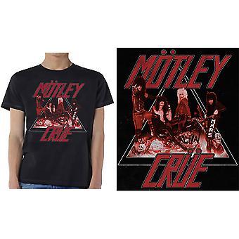 Motley Crue - För snabb cykel män x-stor T-shirt - svart