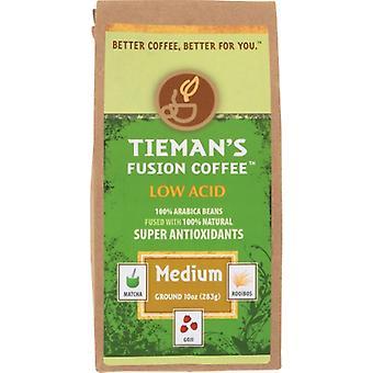Tiemans Fusion Coffee Grnd Med Fusion, Case of 6 X 10 Oz