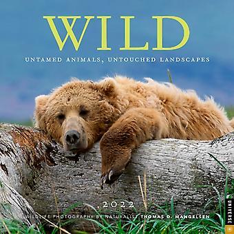Wild 2022 Väggkalender av Thomas D. Mangelsen