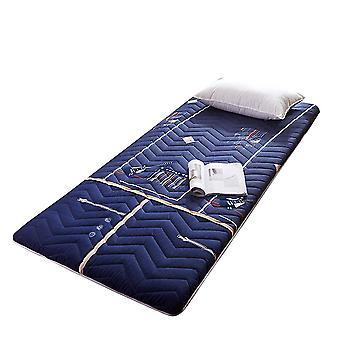 Purple 2 180*200cm thick non-slip foldable mattress breathable comfortable elastic mattress homi3827