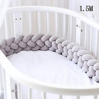 new 1.5m-08 baby bed bumper for crib cot protector for bed room decor sm51712