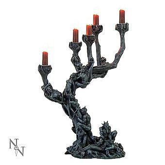 Hells Demons stearinlys holder