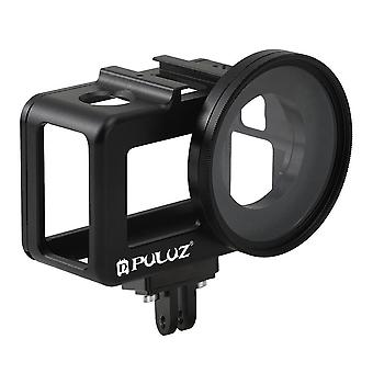 PU393B alumínium ötvözet védőhéj keret UV objektív szűrővel DJI OSMO Action Sportokhoz