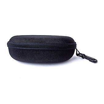 Sunglasses Case Portable Travel Zipper Glasses Case with Metal Hanging Hook