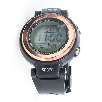 XOOM 8230101 Digital Wristwatch, Silicone Cordon, Digital Wrist Watch, Illuminated Display, Unisex Wrist Watch, Water Resistant