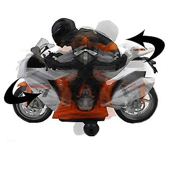 RC Motorcycle Toys Remote Controlle Cool Toy Stunt Car For Children Gift With light music rotation