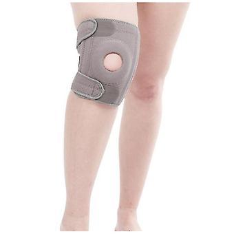 Een paar buitensportfitness klimmen kniebeschermers (grijs)