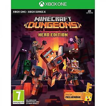 Minecraft Dungeons Hero Edition Xbox One-spel
