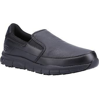 Skechers الرجال نامبا غروتون أحذية السلامة المهنية