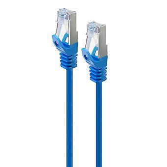 Serveredge 1M blå Cat6A Slim S Ftp nätverkskabel