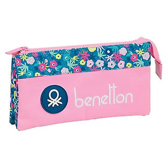 Holdall Benetton Blooming Pink